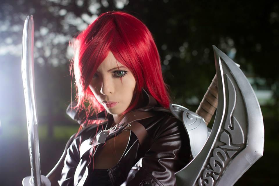 Katarina , League Of Legends Cosplay by Akira0617