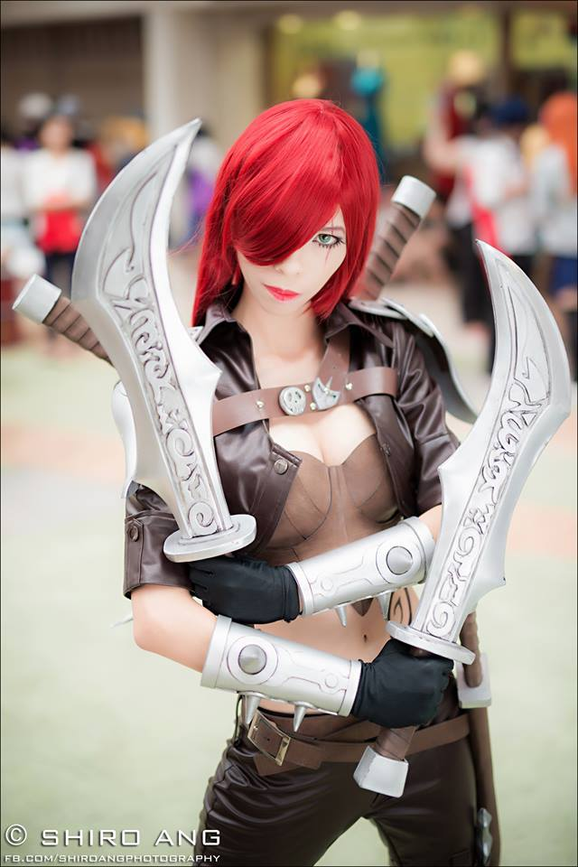 Katarina , League Of Legends Cosplay by Akira0617