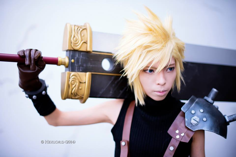 Cloud Strife From Final Fantasy VII by Akira0617