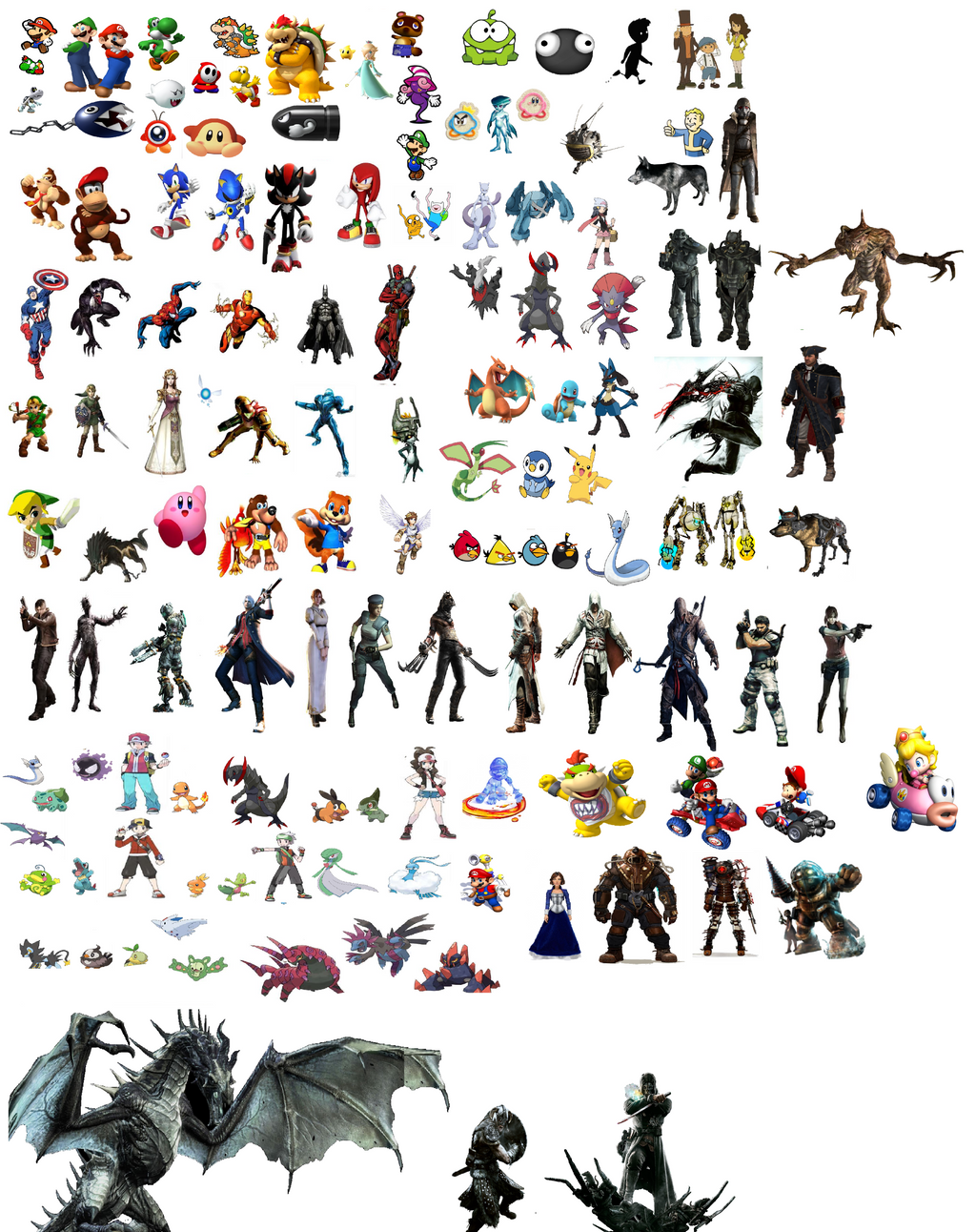 Video Game Character Wallpaper Quotes. QuotesGram Video Game Characters