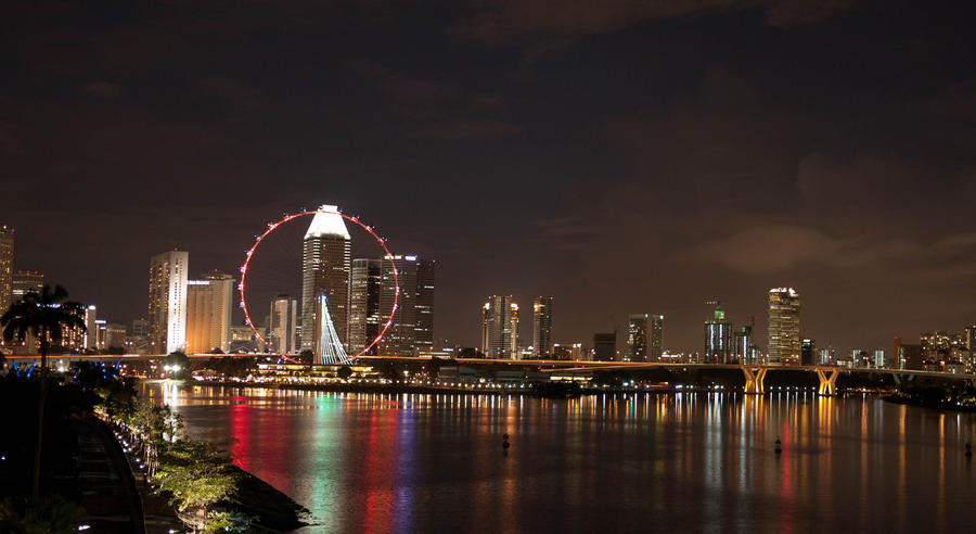 The Singapore Flyer by feria233