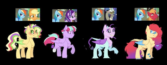 [Adopts] Rainbow Dash ship adopts (OPEN)