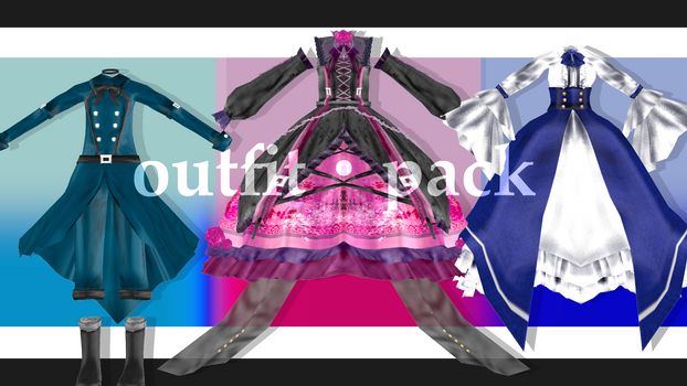 [mmdoutfit]outfit pack[DL]