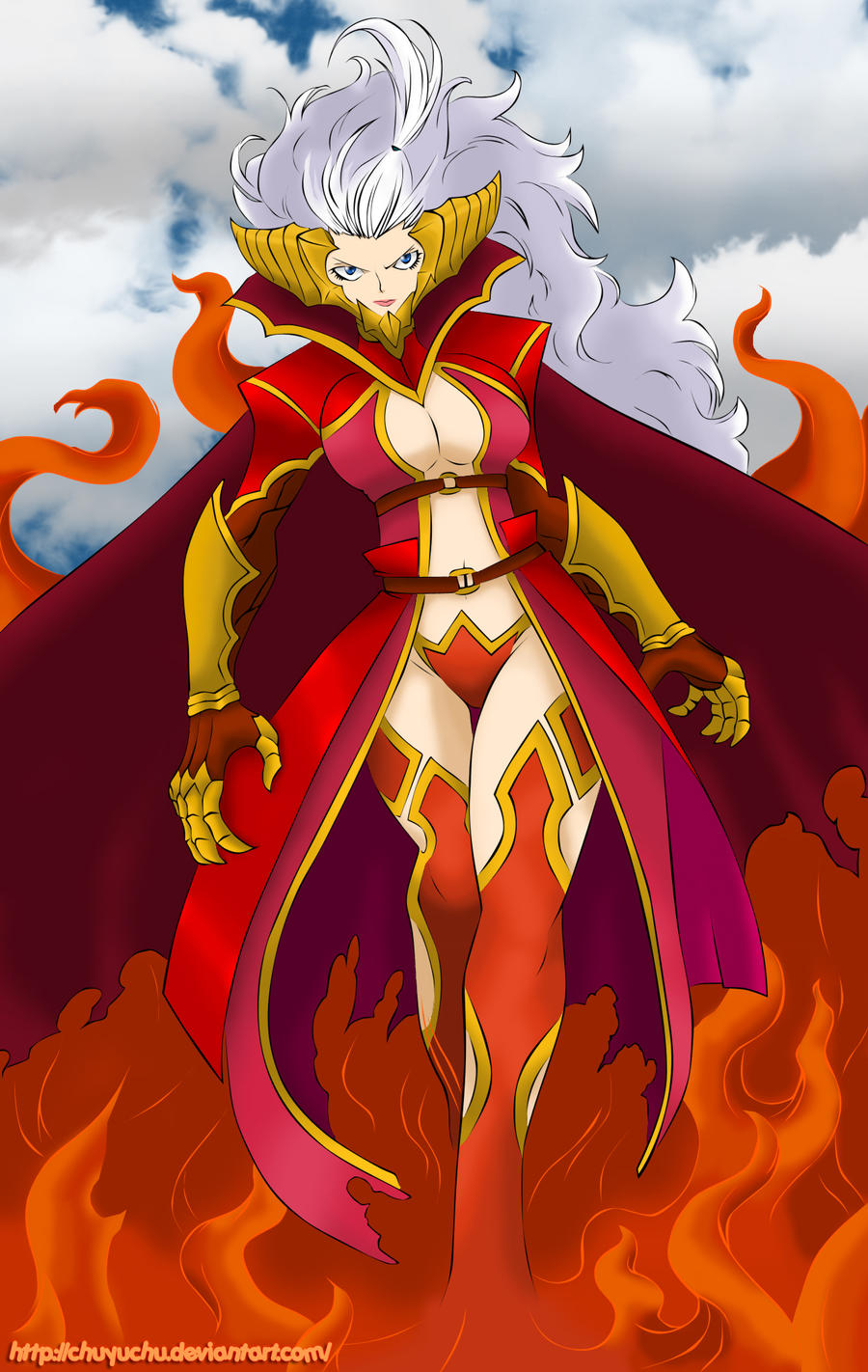 Mirajane Strauss In Satan Soul Sitri Mode By Chuyuchu On Deviantart He is a great prince, and appeareth at first with a leopard's head and the wings of a gryphon, but after the command of the master of the exorcism he putteth on. mirajane strauss in satan soul sitri