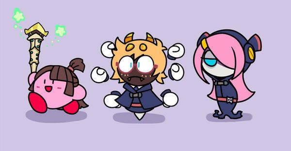 Little Kirby Academia by zero93