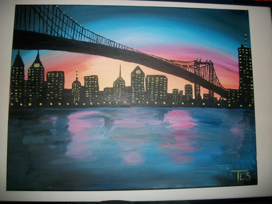 City Sunset by tstat0822