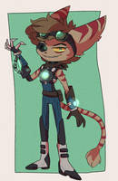 ratchet and clank:: fan oc : Stradus by C2YPTIC
