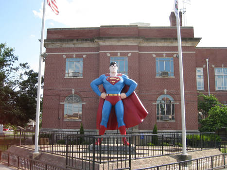 Superman at Metropolis