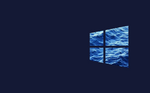 Windows10 Flag Blue Water