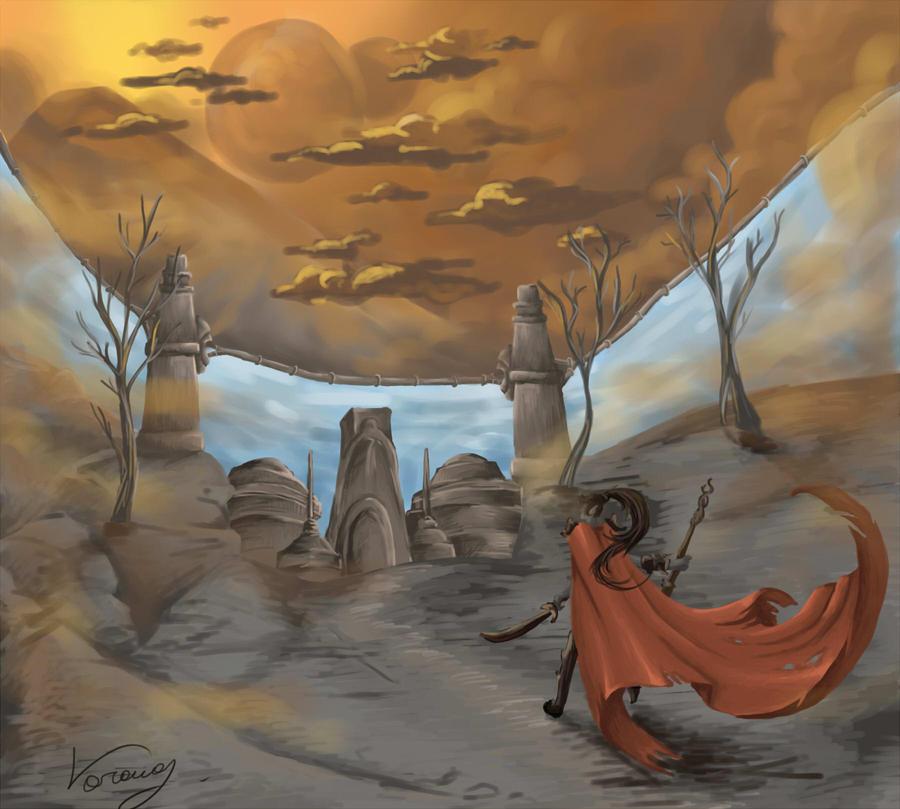 The Elder Scrolls III: Morrowind by vopoha