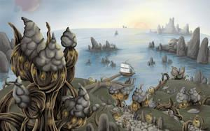 Morrowind: Sadrith Mora by vopoha