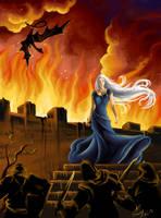 Game of Thrones: Daenerys Targaryen by vopoha