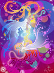 Serenity and Galaxia by vopoha