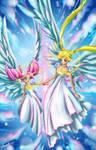 Sailors. Winged Princess