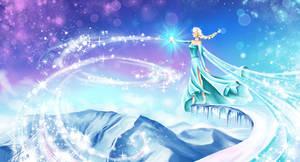 frozen. Elsa