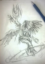 shaman by vopoha