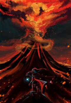 TES. Red mountain