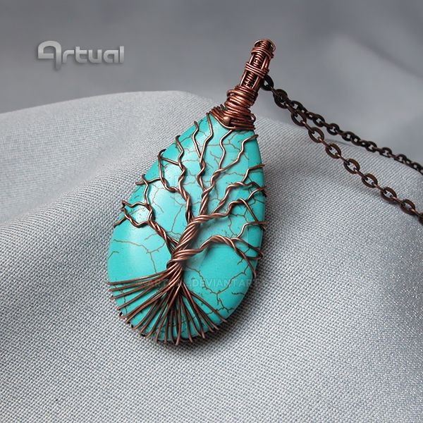 Wire wrapped tree of life by artual on DeviantArt