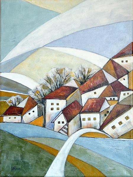 Quiet village by artual