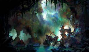 Blackbeard's Hideout ( early concept )