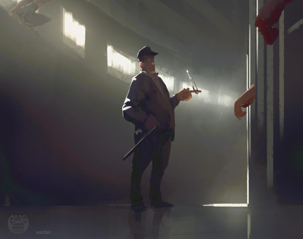 Warden by yakonusuke