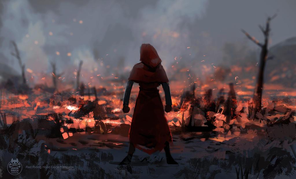 Red riding hood gone rampage by yakonusuke