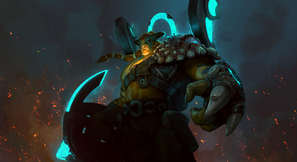 DOTA 2 : Elder Titan - 'Ancient One' item set by yakonusuke