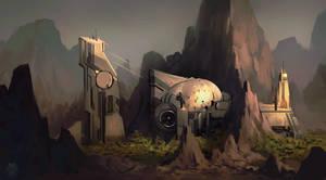 Mars Terraforming Base