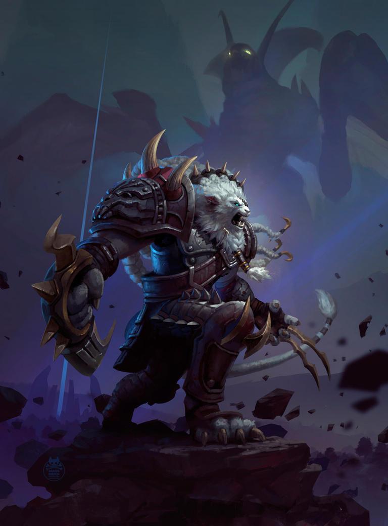 Rengar- League of Legends by yakonusuke