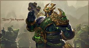 Dota 2 : Earths Spirit -Imperial Jade Armaments-