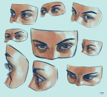 Anatomy practice 5 by yakonusuke