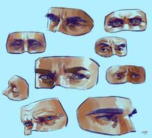 Anatomy practice 6 by yakonusuke