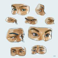 Anatomy practice 7 by yakonusuke