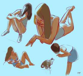 Anatomy practice 8 by yakonusuke