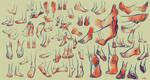 Anatomy practice 13 by yakonusuke