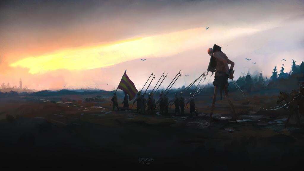 The hunt by yakonusuke