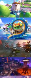 Spyro Reignited Trilogy by yakonusuke
