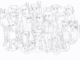 MLP Gen5 The gang's all here by alpha-power