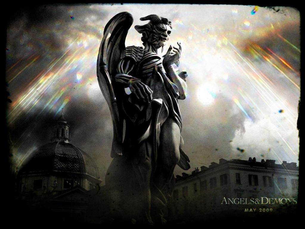 Vintaged Angels and Demons wallpaper by SelfversusSelf on ...