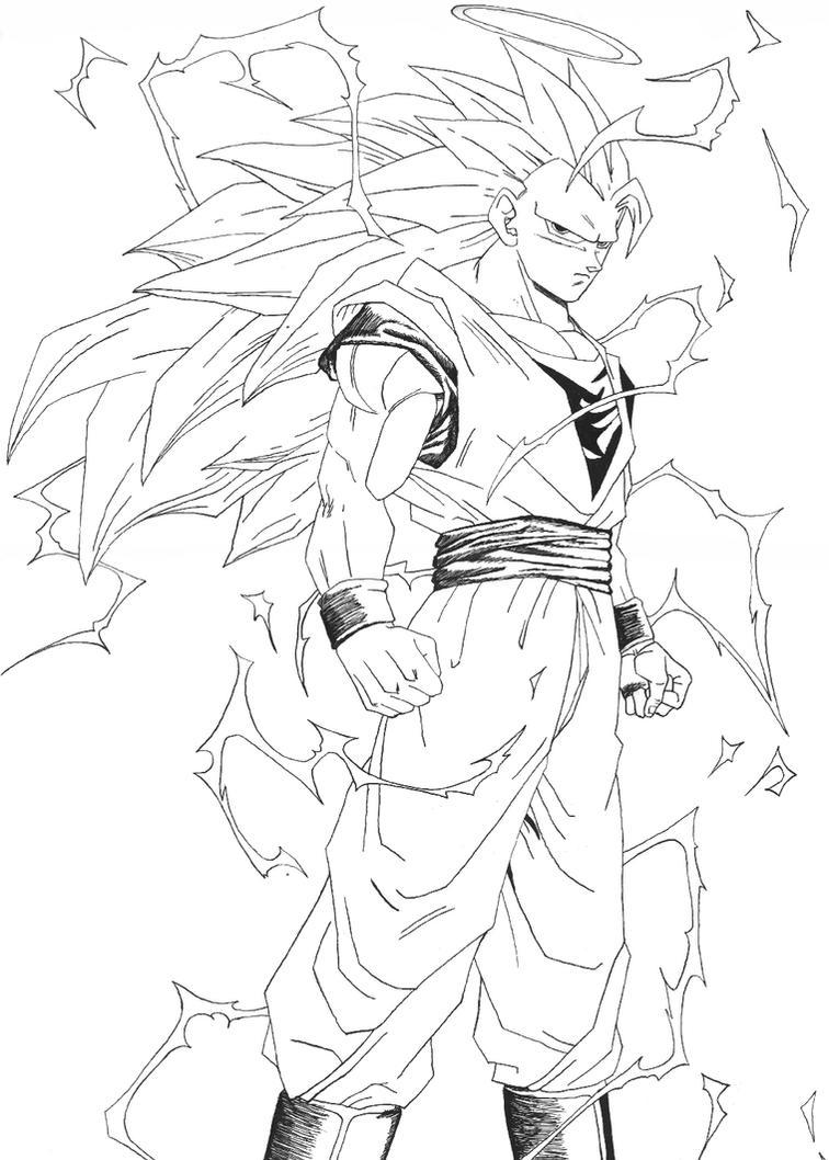 Goku ssj3 - 2 by bejita81