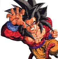 Goku SSJ4 by bejita81