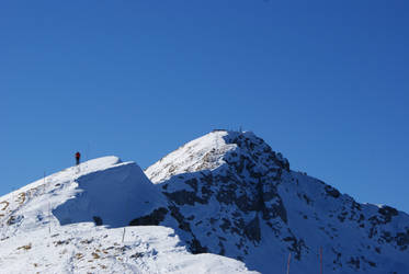 Heading to the top of Grigna