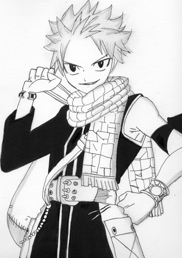 Natsu fairy tail by chemicalgirl7 on deviantart - Comment dessiner natsu ...