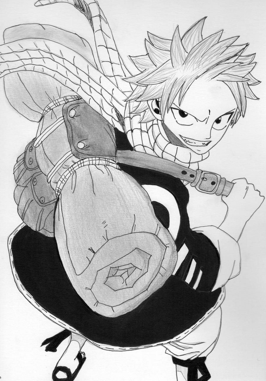 Natsu - Fairy Tail by Chemicalgirl7