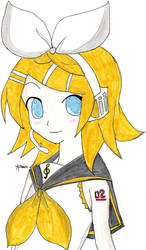 Rin - Vocaloid (Color) by Chemicalgirl7