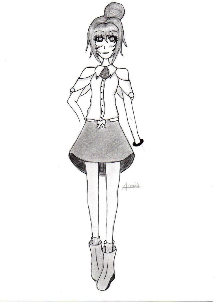 Stylist Sketch #1 by Chemicalgirl7