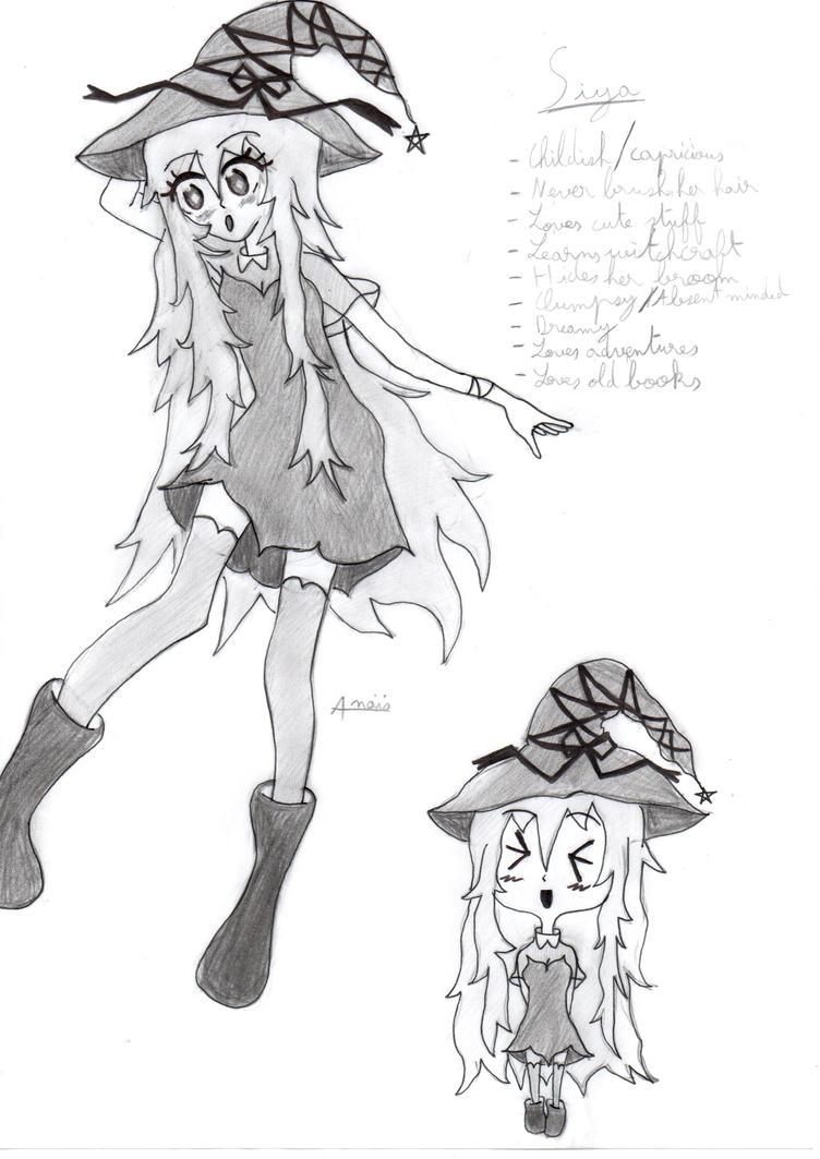 Siya The Little Witch by Chemicalgirl7