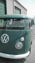 vw bus by Marfackaa