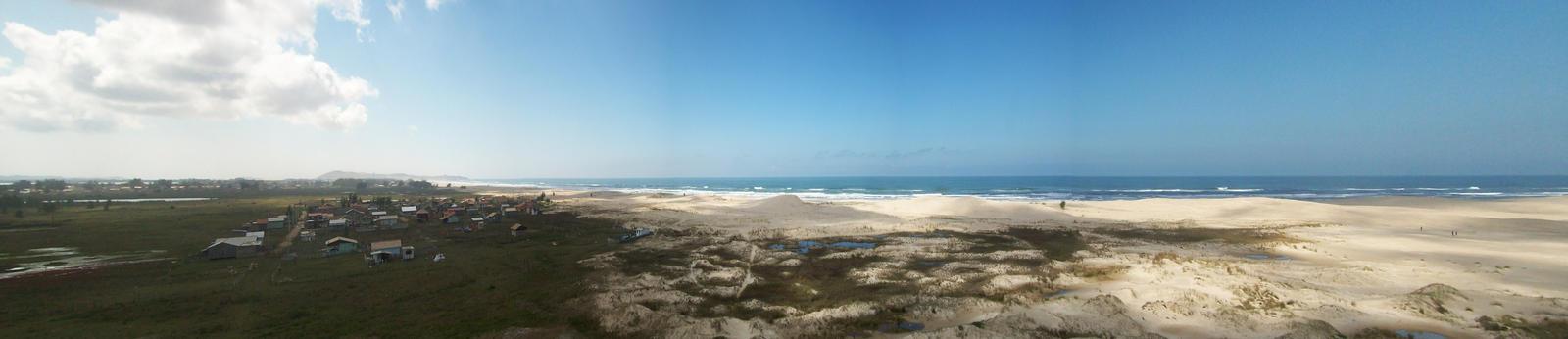 Sambaqui Dunes - Camacho, SC, Brazil (Panorama 1) by Ishtaryu