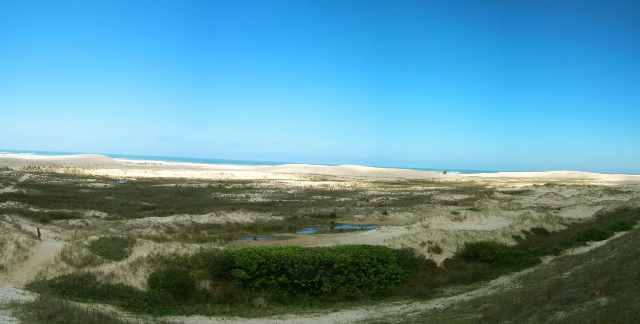 Sambaqui Dunes - Camacho, SC, Brazil (Panorama 2) by Ishtaryu